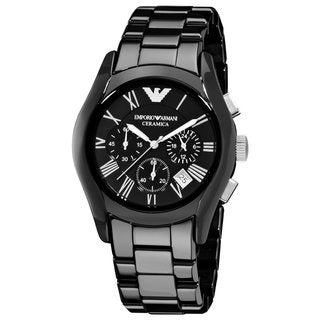 Armani Men's Black Ceramic Watch