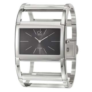 Calvin Klein Women's 'Dress' Stainless Steel Swiss Quartz Watch