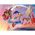 Road Runner and Wile E. Coyote Wall Art