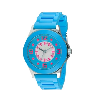Adrenaline by Freestyle Light Blue Jelly Watch
