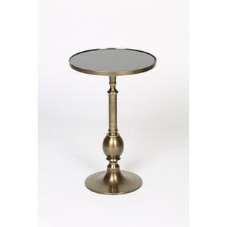 Granite Inset Accent Table