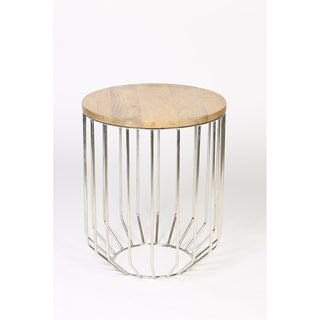 Tapered Base Accent Table