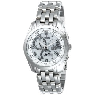 Citizen Men's 'Calibre' White Dial Eco-Drive Watch