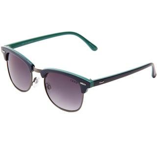 Izod Unisex IZ 367 90 Navy/Teal Plastic Fashion Sunglasses
