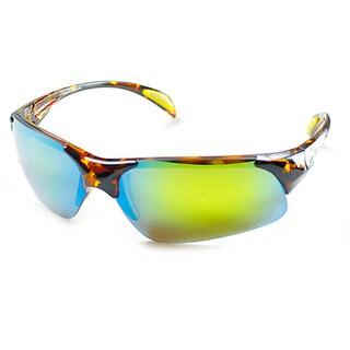Izod Unisex IZ 105 21 Tortoise Plastic Sport Sunglasses