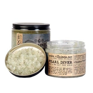 Villainess Pearl Diver Foot Salt Scrub