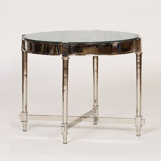 Beveled Glass Top Side Table at Sears.com