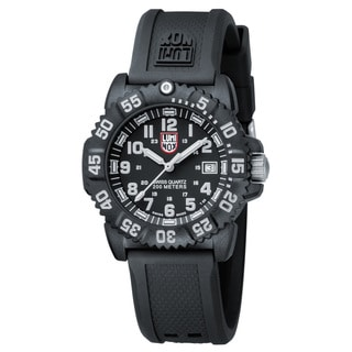 Luminox Men's 'Navy Seal Colormark' Black Dial Watch