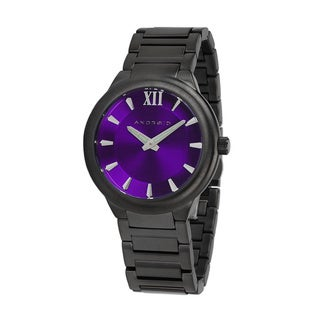 Android Stainless Steel Purple Dial Radius Grand Automatic Watch