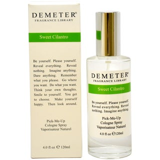 Demeter Sweet Cilantro Women's 4-ounce Cologne Spray