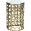 Geometric Pattern Accent Table