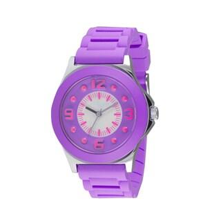 Adrenaline by Freestyle Purple Jelly Watch