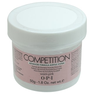 OPI 1.76-ounce Competition Warm Pink Acrylic Powder