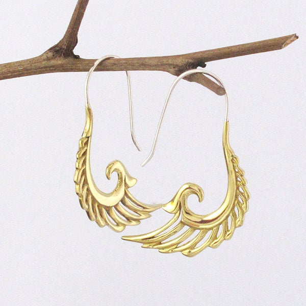 Wings of Freedom Tribal Fusion Earrings (Indonesia)