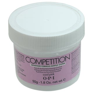 OPI 1.76-ounce Competition Cool Pink Acrylic Powder