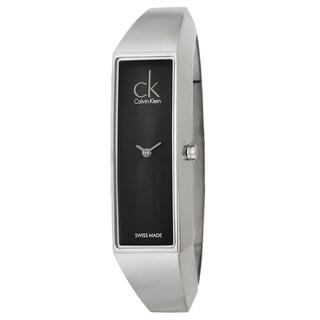 Calvin Klein Women's 'Section' Stainless Steel Swiss Water-resistant Quartz Watch