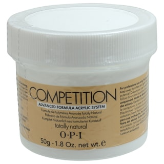 OPI 1.76-ounce Competition Totally Natural Acrylic Powder