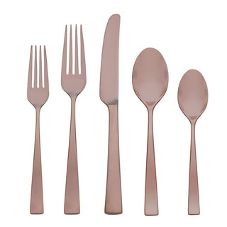 Gorham Argento Elemental Copper 5-Piece Flatware Place Setting