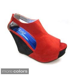 Luv's Women's 'Aspen' Wedge Heels