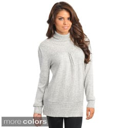 Stanzino Women's Turtleneck Knit Sweater
