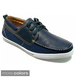 Polar Fox Men's Casual Lace-up Boat Shoes
