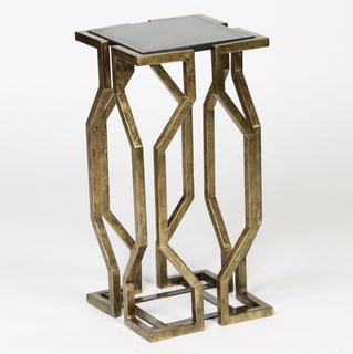 Geometric Form Accent Table