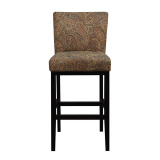 Portfolio Orion Paisley Upholstered 29-inch Bar Stool
