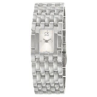 Calvin Klein Women's 'Braid' Stainless Steel Swiss Quartz Watch