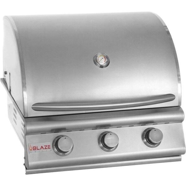 Blaze 25-inch 3-burner Built-in Natural Gas Grill
