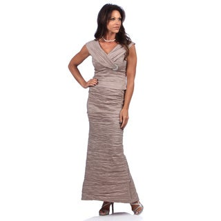 Alex Evenings Stretch Taffea 2 Piece Dress