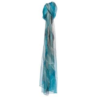 Burberry Women's Half Mega Check Silk Scarf
