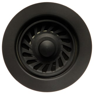 UK2150MBL Evolution Disposal Flange and Stopper Matte Black