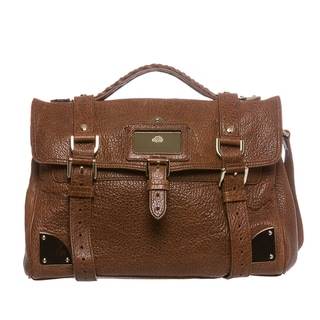 Mulberry Shiny Leather Day Satchel Day