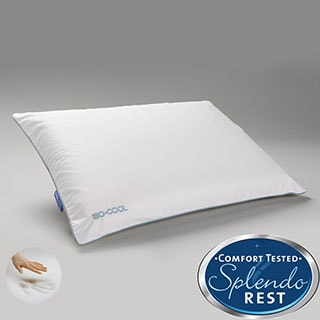 Splendorest IsoCool Traditional Memory Foam Pillow with Outlast Cover