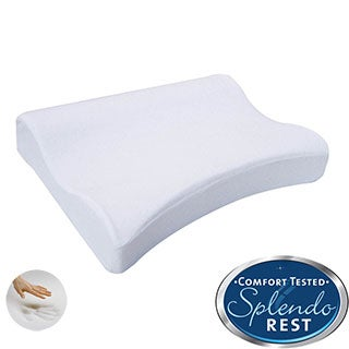 Splendorest Exquisite Comfort Memory Foam Contour Shoulder Pillow
