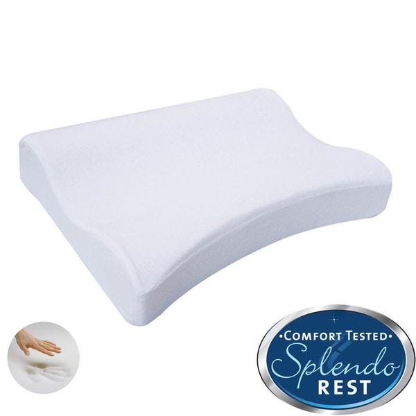 Splendorest Exquisite Comfort Memory Foam Contour Shoulder Pillow