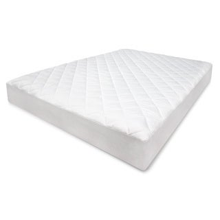 SwissLux CoolMAX 300TC Diamond Quilted Stain Release Mattress Pad