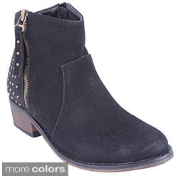 Blossom Women's 'Yolanda-5' Studded Ankle Booties