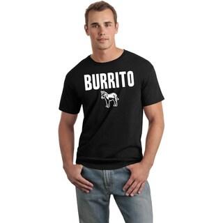 Men's 'Burrito' Funny Parody T-Shirt