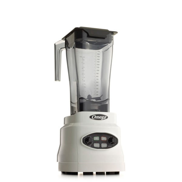 Omega BL630W 3-HP, 64-Ounce Variable Speed Blender- White