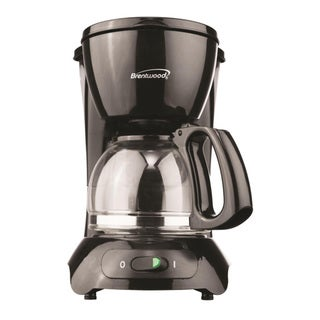 Brentwood TS-214 4 Cup Coffee Maker- Black