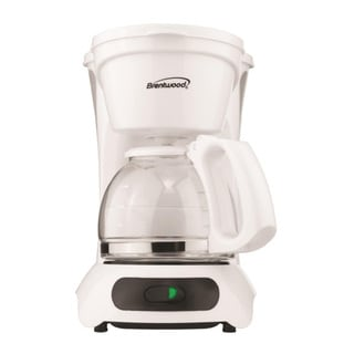 Brentwood TS-212 4 Cup Coffee Maker- White