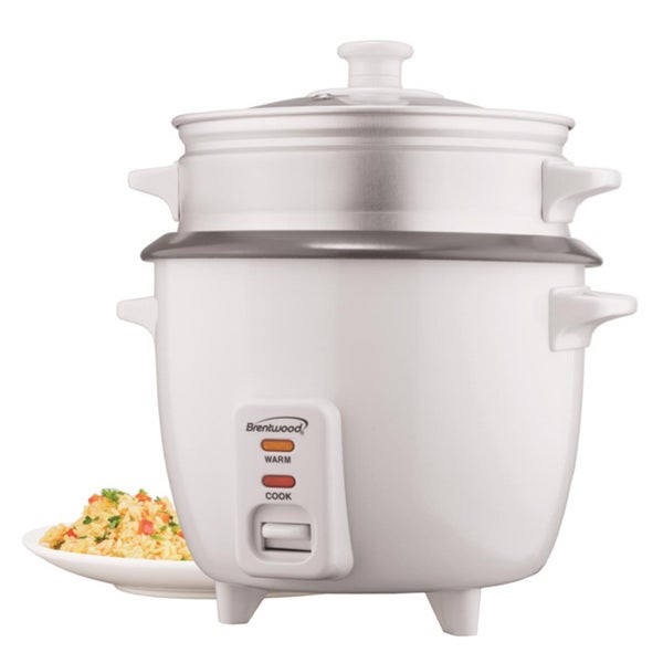 Brentwood 4 Cup Rice Cooker Steamer 11533885
