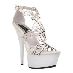 Women's Highest Heel Amber-531 White Patent