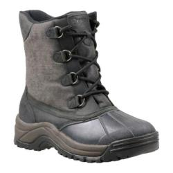 Men's Propet Blizzard Mid Lace Canvas Weathered Charcoal