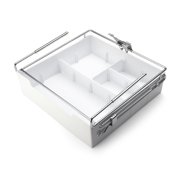 Kamenstein White Xtra Drawer Organizer