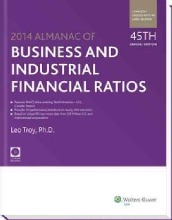 Almanac of Business and Industrial Financial Ratios 2014