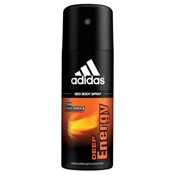 Adidas Deep Energy for Men by Adidas Deodorant Body Spray 5.0 Oz.