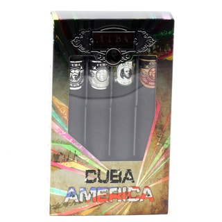Cuba America Men's 4-piece Gift Set