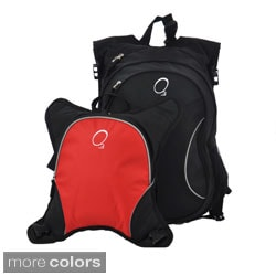 O3 Innsbruck Diaper Bag Backpack with Detachable Cooler